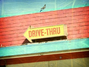 http://www.dreamstime.com/stock-photos-aged-photo-drive-thru-sign-image28113503