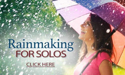 Rainmaking for Solos